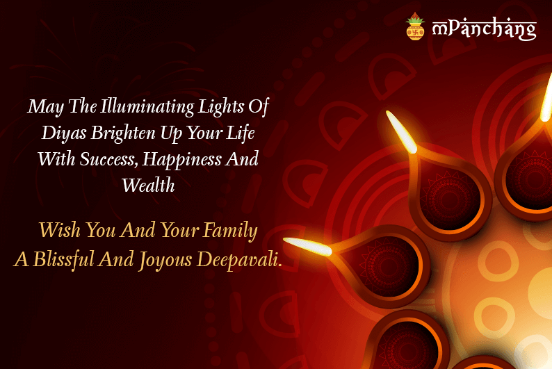 diwali wishes for friends and family