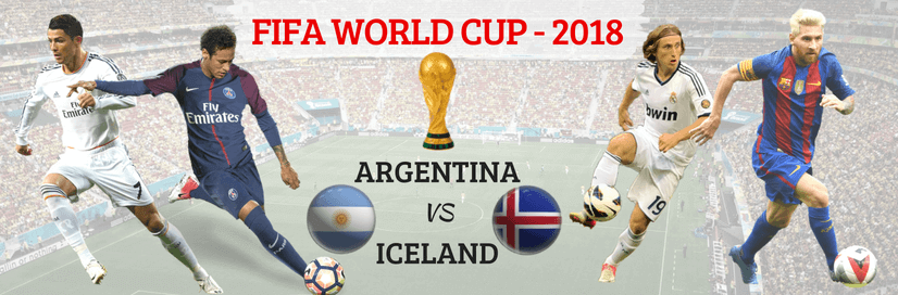 Who Will Win The Football Match Today (Argentina vs Iceland)