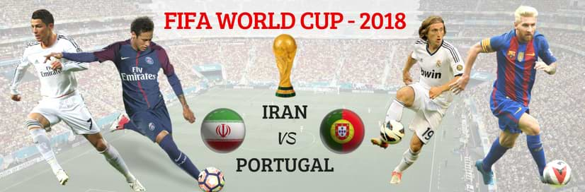 Portugal vs Iran Who Will Win Today FIFA 2018
