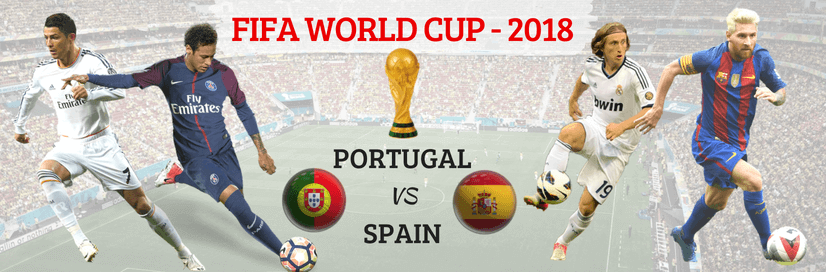 Today Match of FIFA World Cup 2018 (Portugal vs Spain)