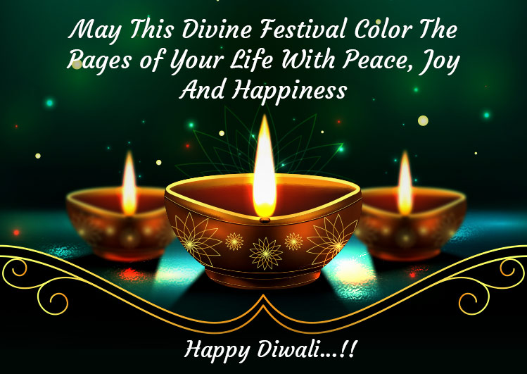 Happy Diwali Greeting and Wishes