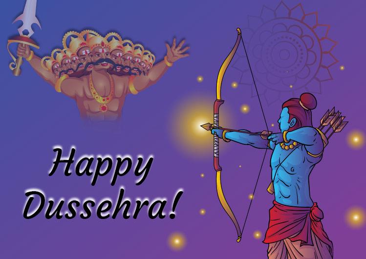 Happy Dussehra Greetings Photos