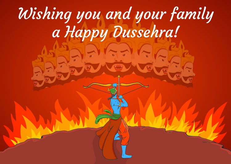 Happy Dussehra Greetings pictures