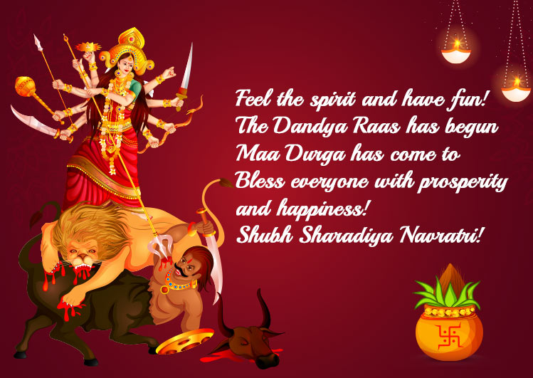 happy navratri quotes Images