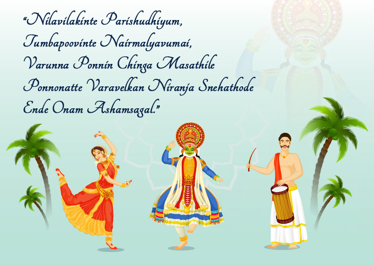 happy onam wishes in english
