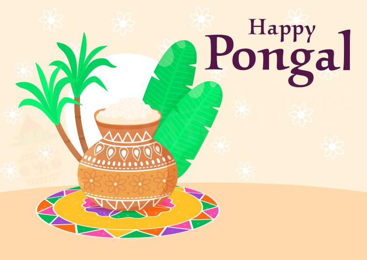 Happy Pongal Greetings 2021