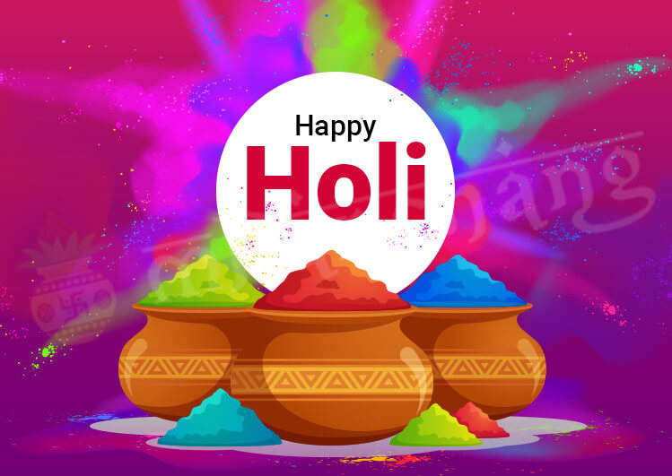 Happy holi Wishes Quotes Messages Images