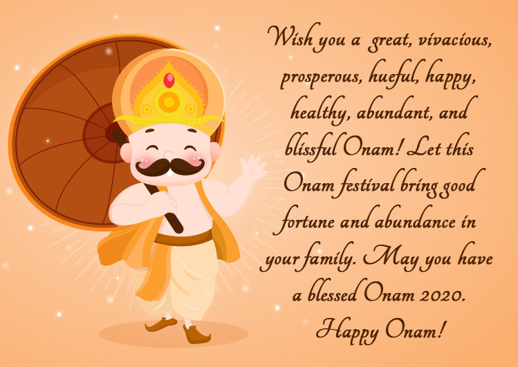 happy onam wishes quotes image