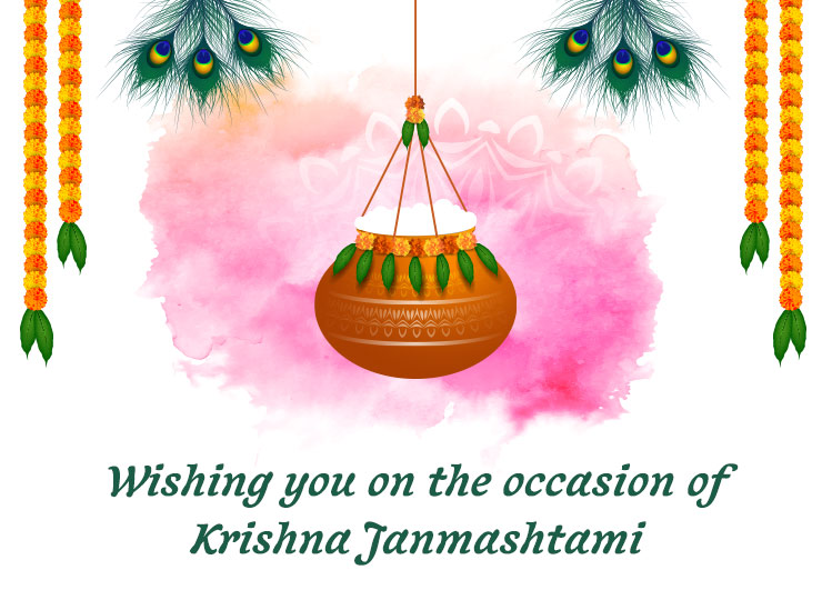 Krishna Janmashtami whatsapp and facebook status photos