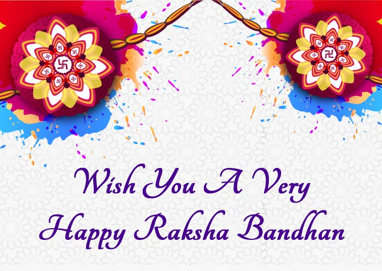 Happy Raksha Bandhan Greeting photo and status images