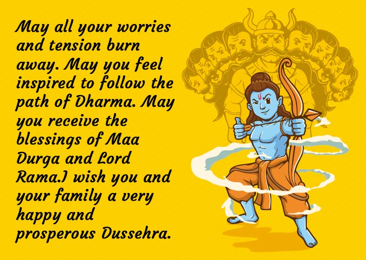 Happy Dussehra Wishes Images for Status