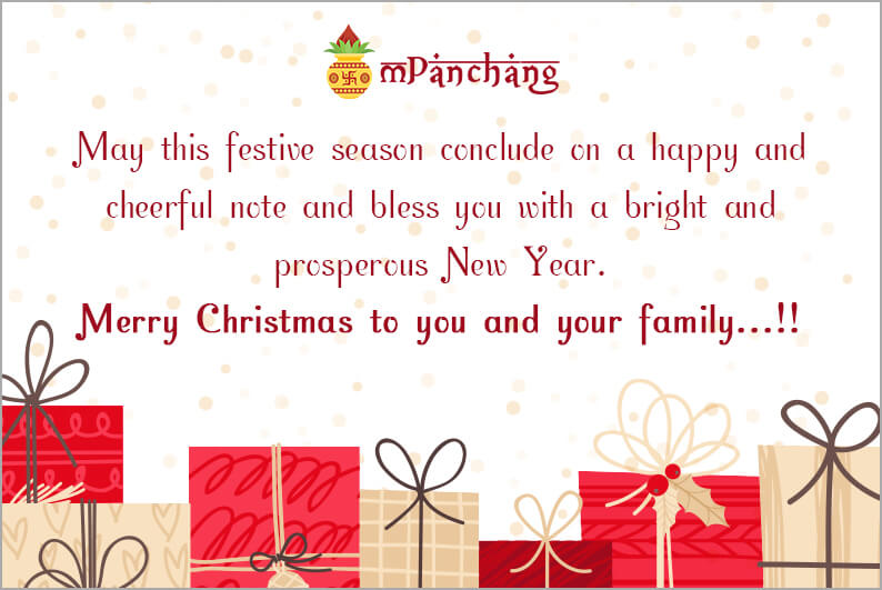 Christmas wishes for friends and family