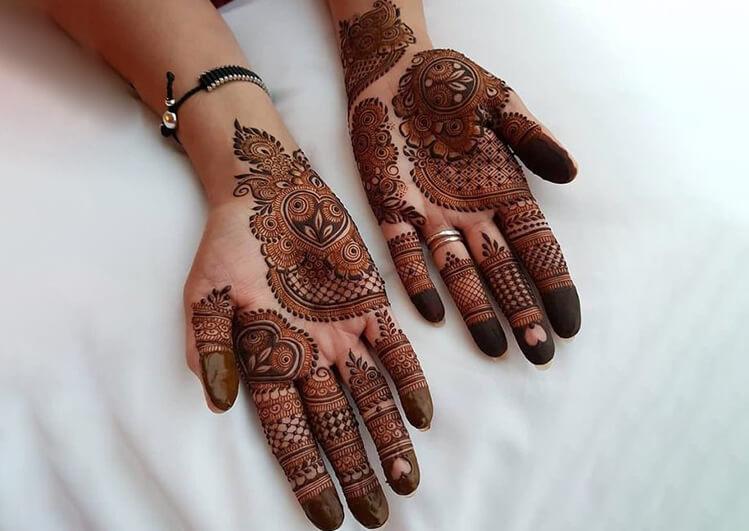 Floral Arabic Mehndi Designs