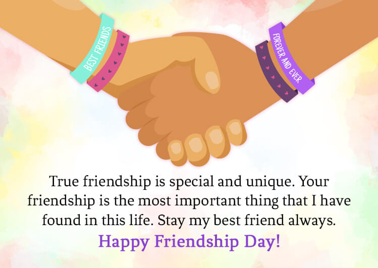 friendship day message and wishes for best friend