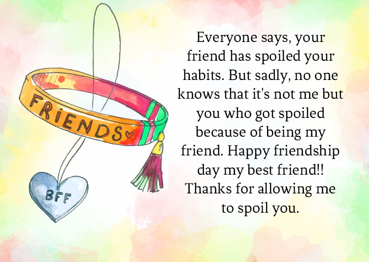 friendship day wishes messages