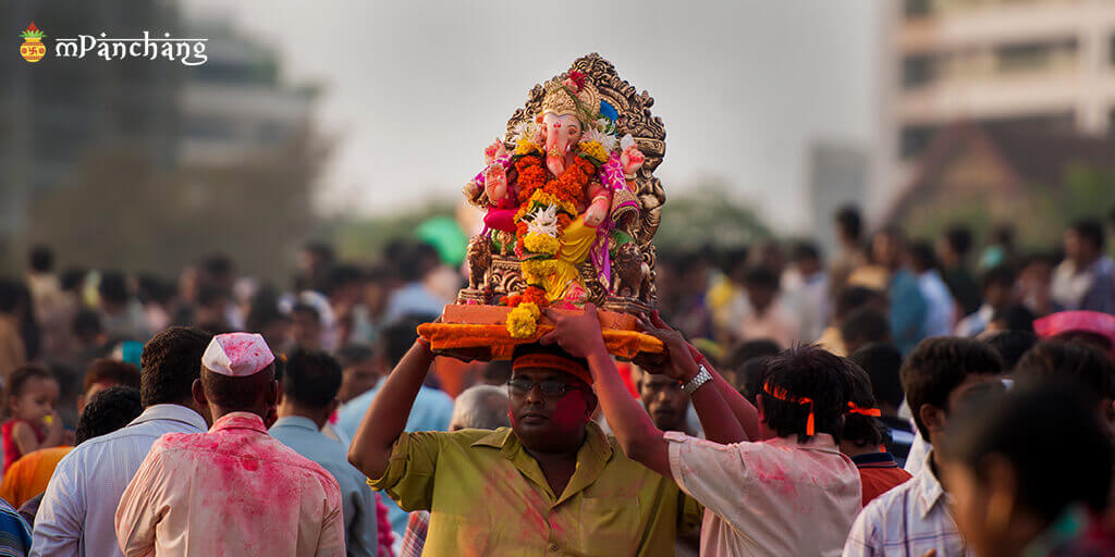 Ganpati festival in Ganpatipule