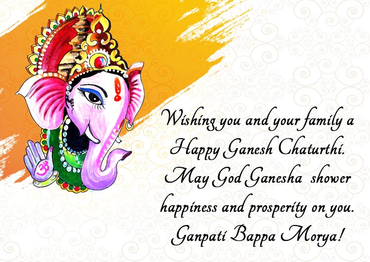 happy ganesh chaturthi wishes with images