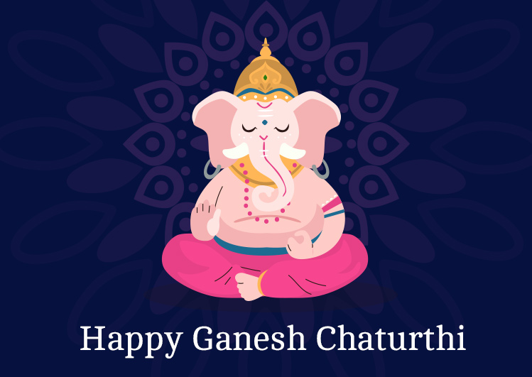 happy ganesh chaturthi status image for Whatsapp and facebook