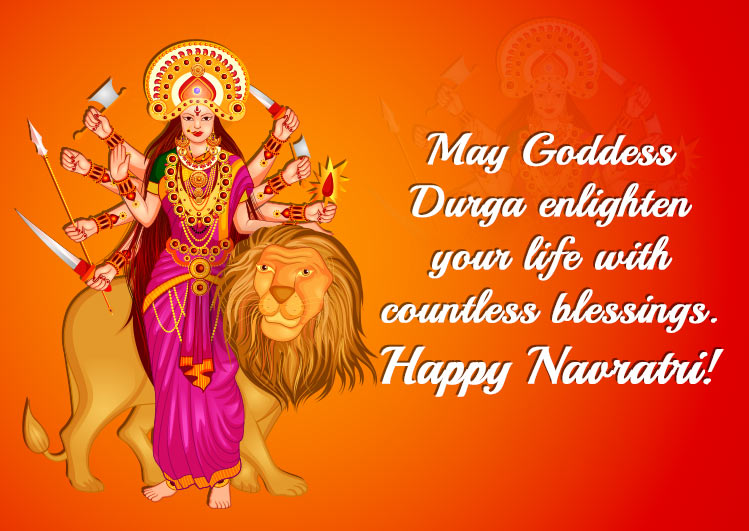 happy navratri images wallpapers