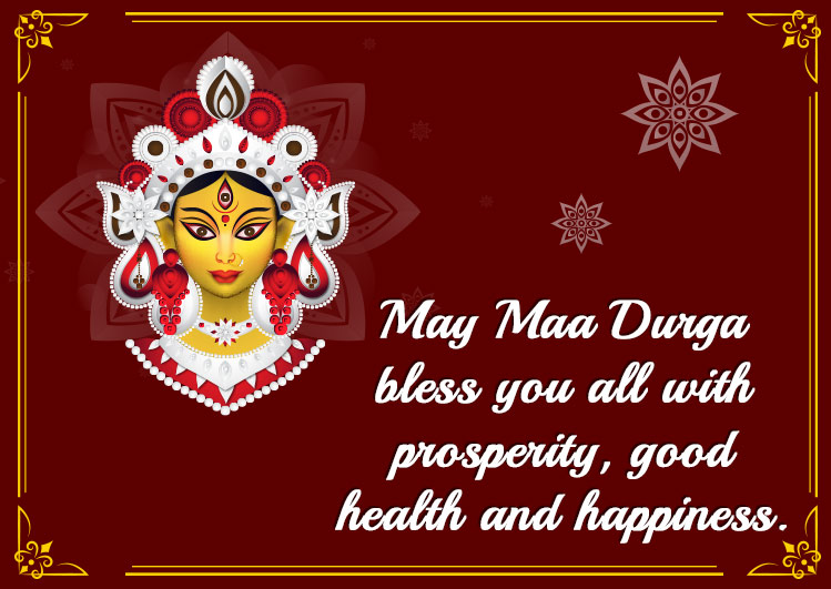 happy navratri wallpaper for status