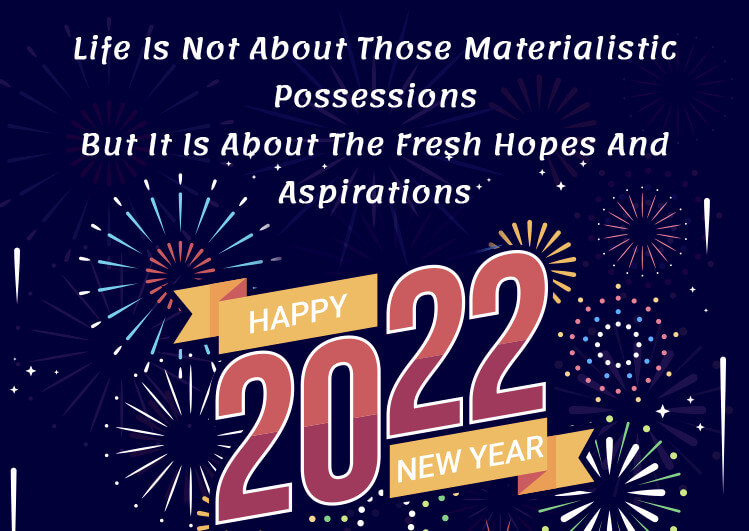 2021 New Year Wishes Famous Quotes