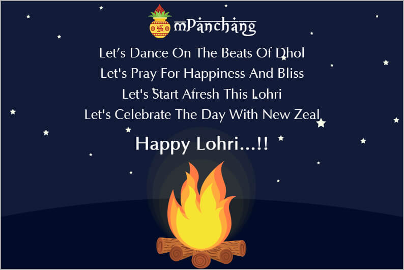 Happy Lohri Whatsapp Status