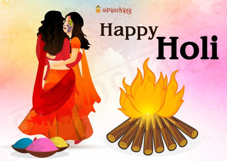 happy holi and holika dahan images