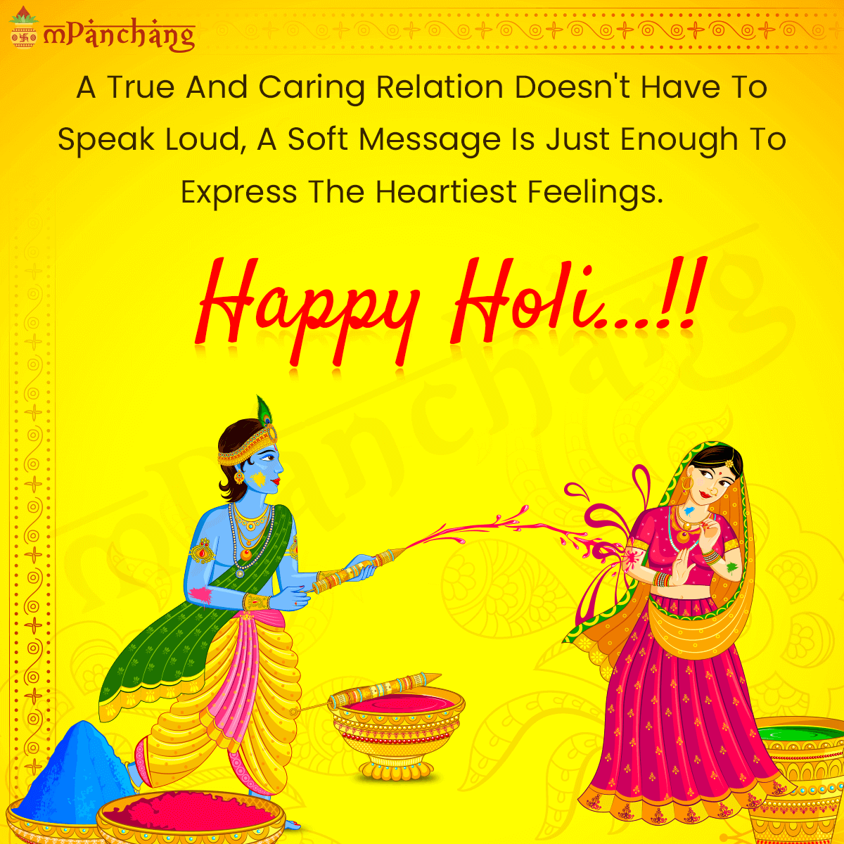 Holi Status For Whatsapp and Facebook