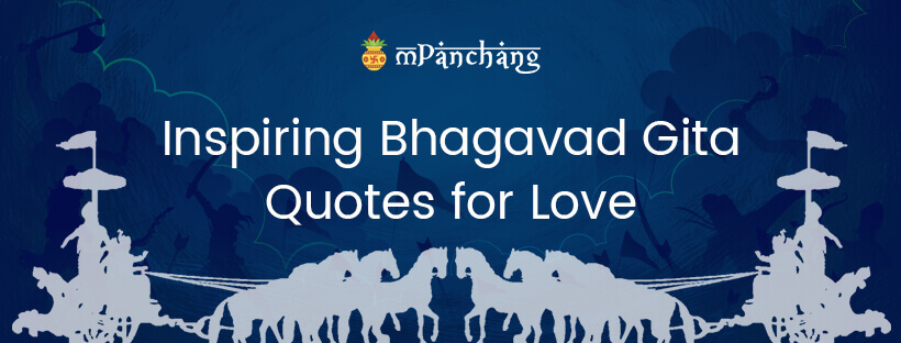 Inspiring Bhagavad Gita Quotes for Love