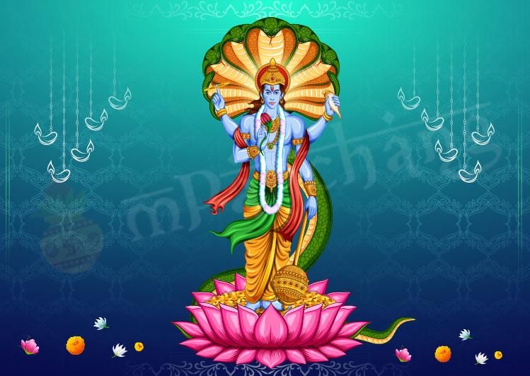 lord vishnu images