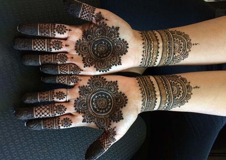 Mandala Mehndi Designs