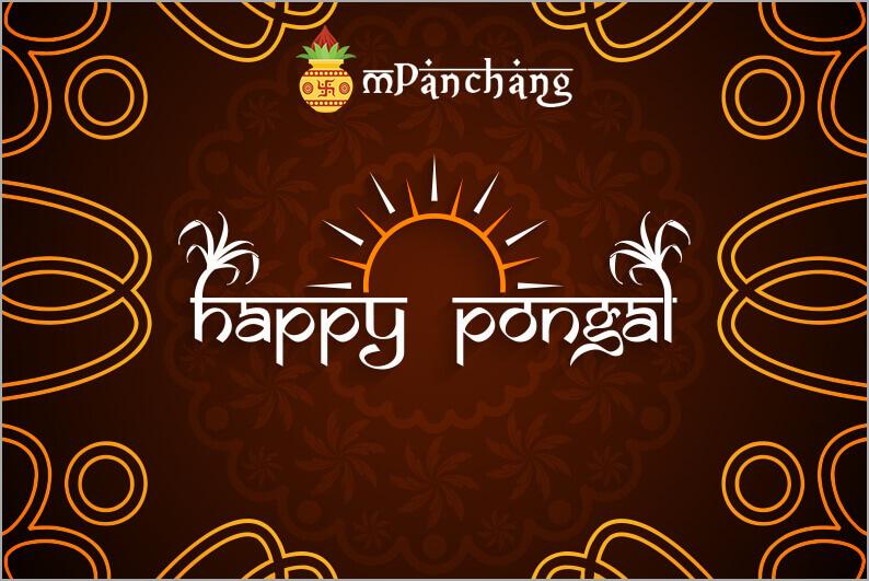 Pongal pot Kolam Rangoli
