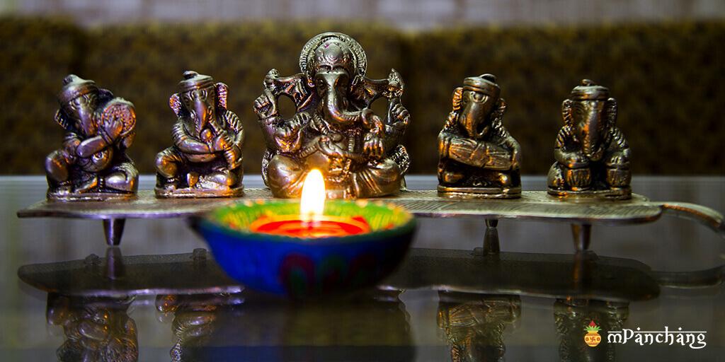 Ganesh Chaturthi festival celebration in Pune