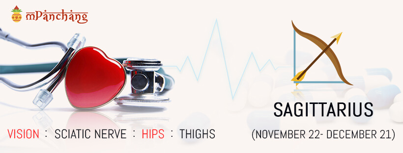 Sagittarius Health Problems