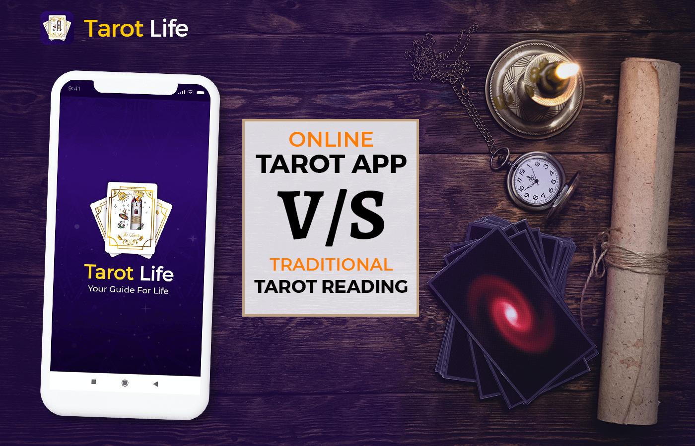 Tarot App Vs Traditional Tarot Reading