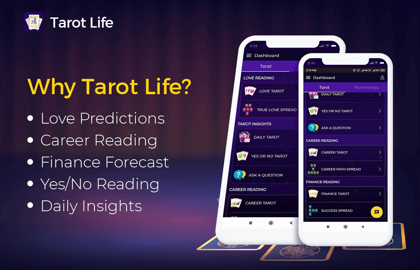Tarot Life - Features