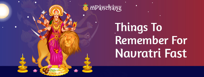 Things To Remember For Navratri Fast