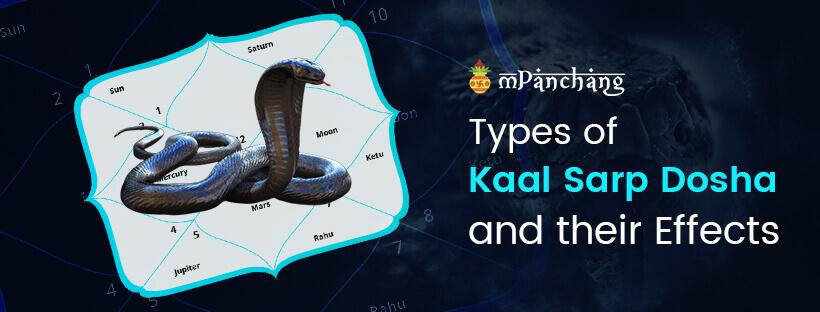 Types Of Kaal Sarp Dosha In Janam Kundali