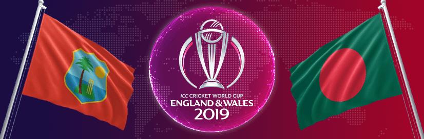 WEST INDIES VS BANGLADESH WORLD CUP MATCH PREDICTION