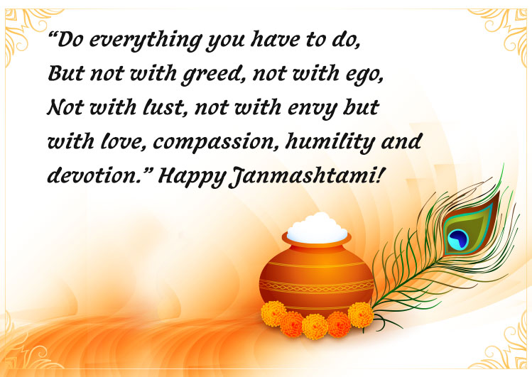 wishing you happy krishna janmashtami 2020